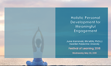 Holistic Personal Development for Meaningful Engagement